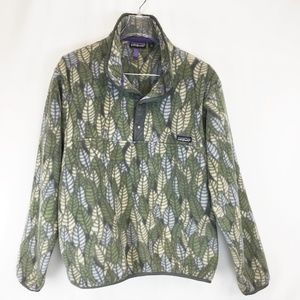 PATAGONIA Synchilla Snap T Fleece  Large Womens